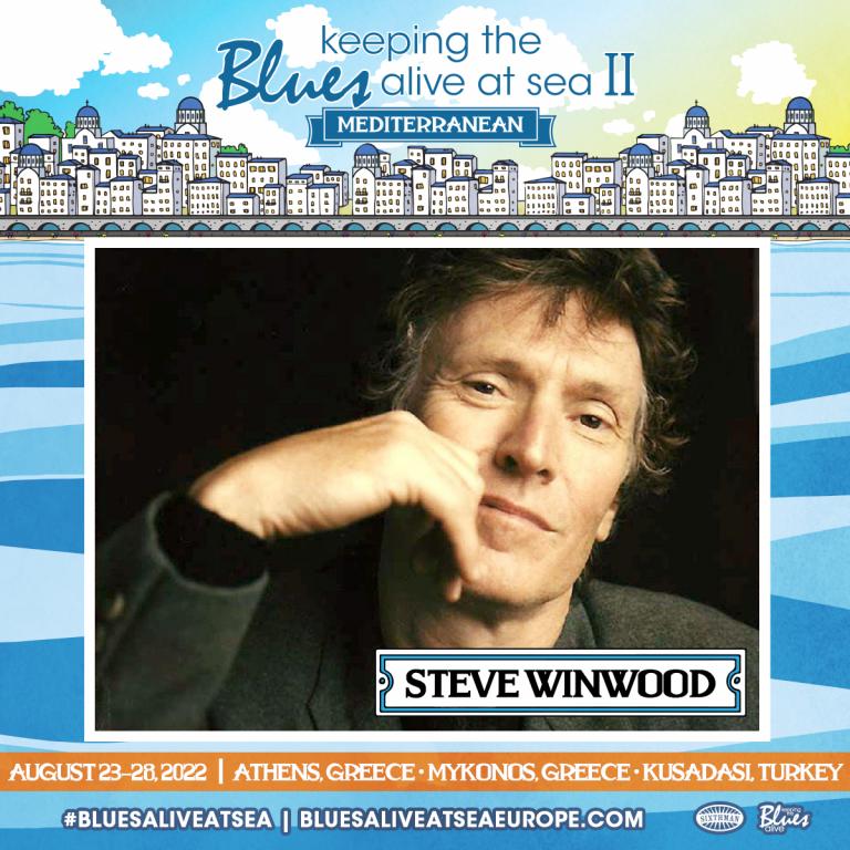 Steve Winwood… Keeping the Blues Alive!